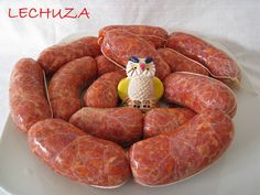 Chorizos caserosde paleta