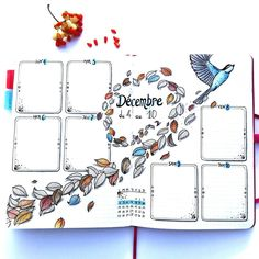 metro_boulot_bujo For next week, I chose a layout still very autumn! It's pretty simple because I have less time to draw ... I'll try to catch up!