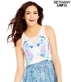 Unicorn Crop Tank from Bethany Mota Collection at Aeropostale