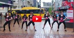 """These ladies dance to Beyonce's """"Single Ladies"""" to raise awareness for breast cancer. You go, girls! 