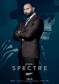007 SPECTRE Japanese Version Poster 08 David Bautista