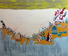 Chicago based artist Elizabeth Ann Lopez // #painting #art