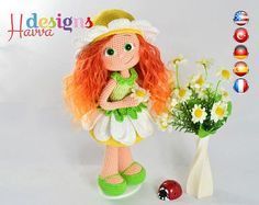 PATTERN   Daisy Doll by HavvaDesigns on Etsy