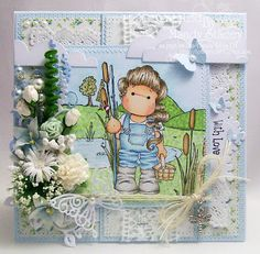 A Sprinkling of Glitter: Gone Fishing! - Totally Tilda DT Card