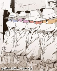 80s<<<One of my Fav incarnations of TMNT :D