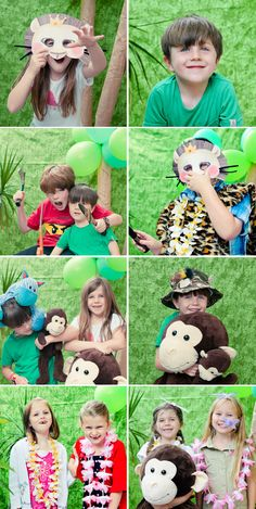 Rumble in the Jungle :: Kids Party Photography » Janelle Keys Photography