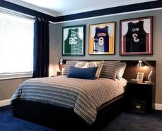 Bedroom Colors For Teenage Guys 14 awesome basketball themed rooms for your youngsters | see best