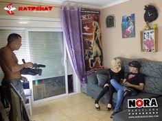 """NUEVO """"Rodando para una productora francesa"""" http://www.norabarcelona.com/index.php/rodando-porno-productora-francesa/ Dirigido por Salva Dasilva, con Nora Barcelona & RATPENAT.  Las fotos """"buenas"""" del rodaje en mi web ;)"""
