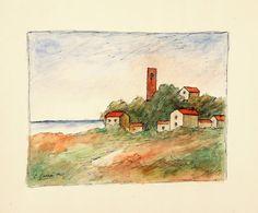 CARRA' CARLO (1881 - 1966) - CARLO CARRA' - Paesaggio