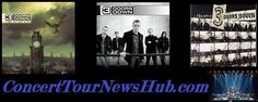 Updated 3 Doors Down 2015 U. Summer Tour Schedule With Seether, Theory of a Deadman or Collective Soul - Updated Theory Of A Deadman, 3 Doors Down, Collective Soul, Music Tours, Concert Tickets, Dead Man, Classic Rock, Rock Music, Punk Rock