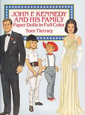 1990 John F. Kennedy & His Family Paper Dolls