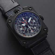 Formex AS 6500 All Black Chronograph Automatic // 65009.9122