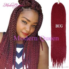 3d Cubic Twist Crochet Braids 120g 22inch Synthetic Braiding Hair Afri Naptural Ombre Havana Mambo Senegalese Twist Hair Extensions Remy Bulk Hair Bulk Remy Hair From Modernqueen888, $7.2| Dhgate.Com Senegalese Twist Hairstyles, Braided Hairstyles, Short Crochet Braids, Remy Hair Extensions, Synthetic Hair, Havana, 3d, Hair Styles, Twisted Hairstyles