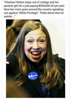 """A pinner said: """"She looks like a donkey!!"""" Now now...she can't help it if she has a face like a can of squashed assholes. Consider her genetics...."""