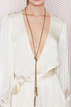 Lilana Lariat Necklace//