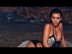 Kim Kardashian Gets Sexy in the Sand