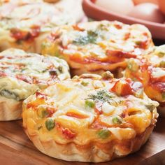A Very tasty recipe for mini quiche. These are a great appetizer for any party.