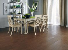 Barcelos is a cork floor! Natural material, comfortable cushioned surface, sound deadening