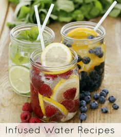6 Refreshing Infused Water Recipes- AND Monday begins FREE Smoothie Challenge