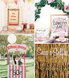 Interactive wedding stations   a hot trend for 2016 weddings   see more on www.onefabday.com