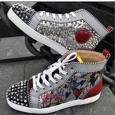 Louboutin men shoes size 11 and 12 for Sale in Houston, TX - OfferUp Casual Sneakers, Sneakers Fashion, Fashion Shoes, Casual Shoes, Christian Louboutin Shoes Mens, Red Bottoms For Men, Men's Shoes, Shoes Sneakers, Shoes Jordans