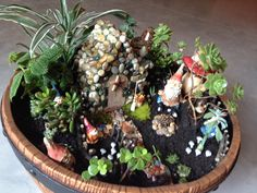 Gnomes, Gnome garden and Garden ideas on Pinterest
