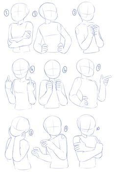 Bases de desenhos Drawing Base, Drawing Stuff, Arm Drawing, Drawing Prompt, Anatomy Drawing, Manga Drawing, Cool Drawings, Drawing Body Poses, Drawing Reference Poses