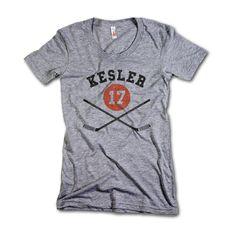 Ryan Kesler NHLPA Officially Licensed Anaheim Women's Scoop Neck S-XL Kesler Sticks K