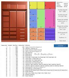 Diseño De Muebles Madera: Modulo De Vestier Closet | Plywood, MDF,  Aglomerado,