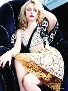 Dakota Fanning Covers ELLE UK ...  www.fashion.net