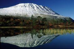 Gaustatoppen - Rjukan. Foto: Ove Bergersen