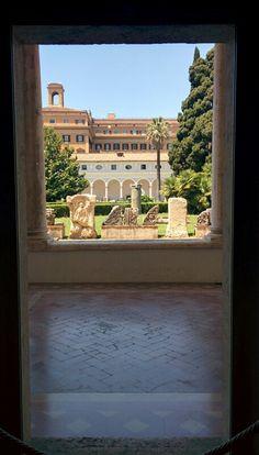 Il chiostro michelangiolesco, Terme di Diocleziano Roma