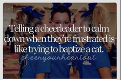 you don't have a cheerleader in the house, then you have NO idea how true this really is!If you don't have a cheerleader in the house, then you have NO idea how true this really is! Cheer Coaches, Cheer Stunts, Cheer Dance, Cheer Qoutes, Cheerleading Quotes, Funny Cheer Quotes, Cheer Sayings, Volleyball Memes, Cheerleading Cheers