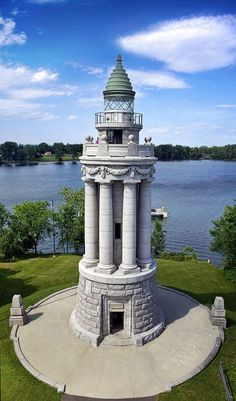 Crown Point Lighthouse - Chimney Point - Vermont - USA