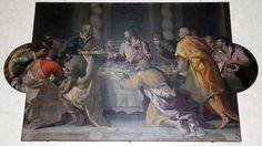 Alessandro Allori - Ultima cena - 1584 - olio su tela - Cenacolo - Museo di Santa Maria Novella, Firenze