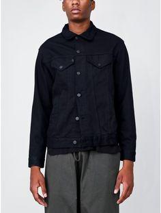 OAK Slouch Denim Jacket Black