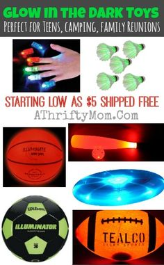 Glow in the Dark Games, perfect for teens camping or family reunions #Summer, #Games, #teens, #FamilyReunion