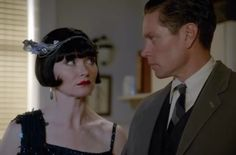 Phryne and Jack from 'Blood and Money' - Miss Fisher's Murder Mysteries.