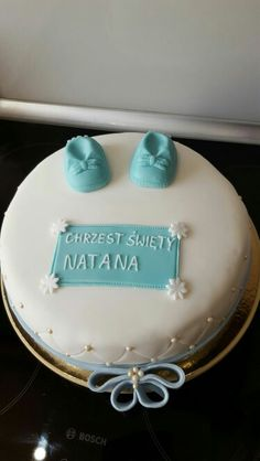 #chrzest #baptist #cake