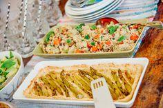 Tankoparsapiirakkaa & korianteri-tomaatti-quinoasalaattia