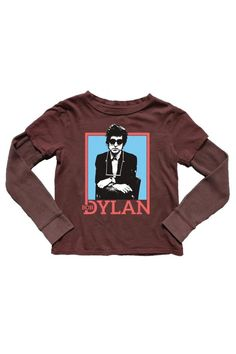 Bob Dylan Layered Tee by Rowdy Sprout from our favorite band tee brand. Always bringing the coolest music to the newest generation of fans! This layered tee features a graphic on the front. Bob Dylan Tee by Rowdy Sprout. Boys - Tops - Shirts New York City