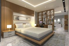Home DIY & home improvement and garden ideas. 👷‍♀️🔨📏🔧👷‍♂️🛠📐 bedroom wardrobe design indian Home Bedroom Idea 🛏 Indian Bedroom Design, Luxury Bedroom Design, Master Bedroom Interior, Bedroom Bed Design, Bedroom Furniture Design, Home Bedroom, Modern Master Bedroom, Bedroom Designs, Furniture Ideas