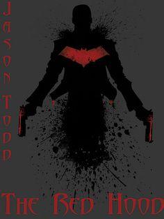 Jason Todd - The Red Hood (Black Splatter) by Az McAarow