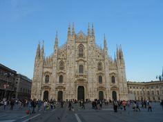 The Duomo, Milano Italy  Photo by: D.P.DaCosta