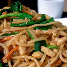 Chicken low Mein in the slow cooker