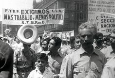 Un siglo de imágenes de lucha obrera en México