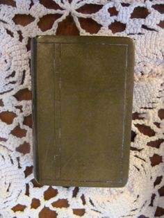 Vintage Brass match box match safe Book shaped by TheClassyLady, $24.00