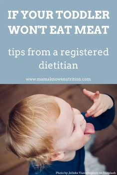 Do you have a picky eater who doesn't eat meat or you're worried about their protein intake? Get toddler nutrition tips to help make sure they get enough nutrition even if you can't get them to eat meat. #pickyeater #toddlernutrition #feedingtoddlers Toddler Wont Eat, Toddler Meals, Kids Meals, Toddler Food, Toddler Smoothies, Smoothies For Kids, Toddler Nutrition, Nutrition Tips, Artificial Food Coloring
