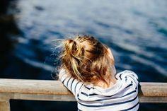 #mariniere #mer #contemplation #petitefille #lacotonniere