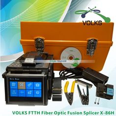 FTTH Fiber Optic Splicing Machine Fusion Splicer X-86H free shipping